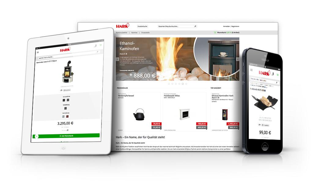 ihr magento online shop von web vision. Black Bedroom Furniture Sets. Home Design Ideas